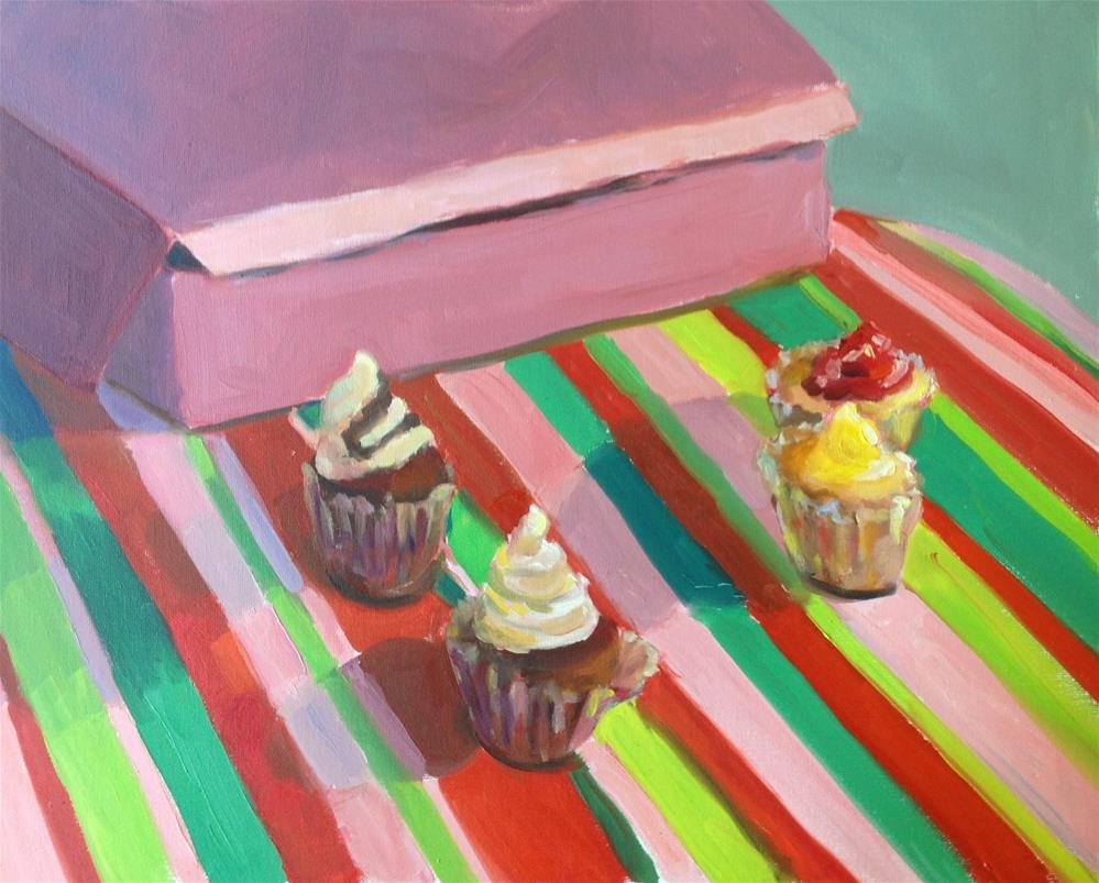 """Baker's Delight"" original fine art by Marcia Bergtholdt"