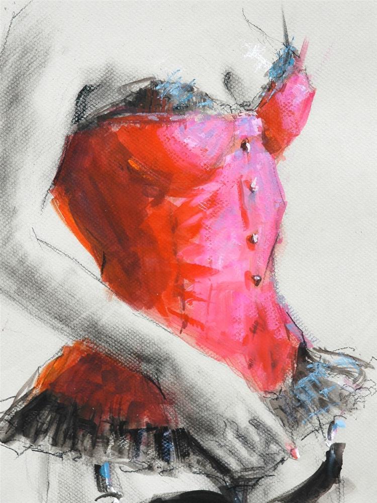 """""""Joy"""" original fine art by Johanna Spinks"""