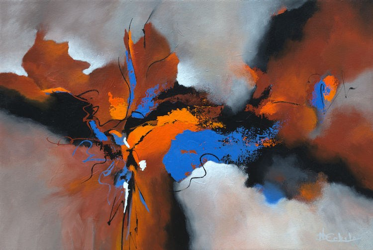 """Vivid Moments"" original fine art by Nancy Eckels"