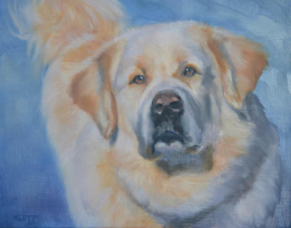 """The Great Pyrenees"" original fine art by Tracy Klett"
