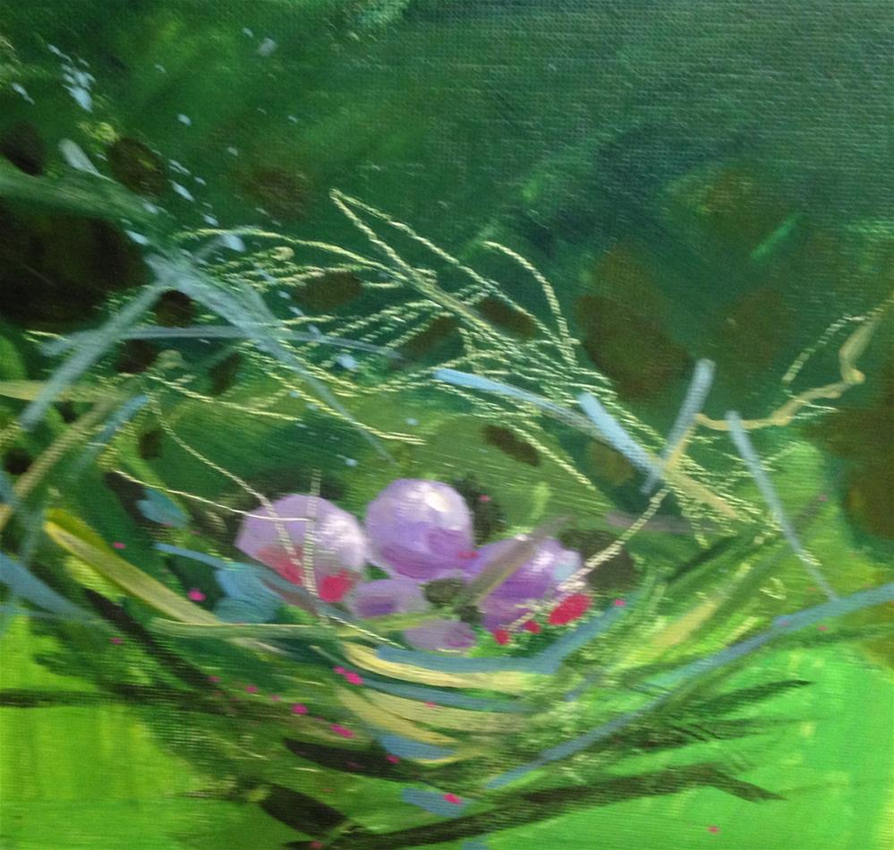 """Nest #3"" original fine art by Margie Whittington"