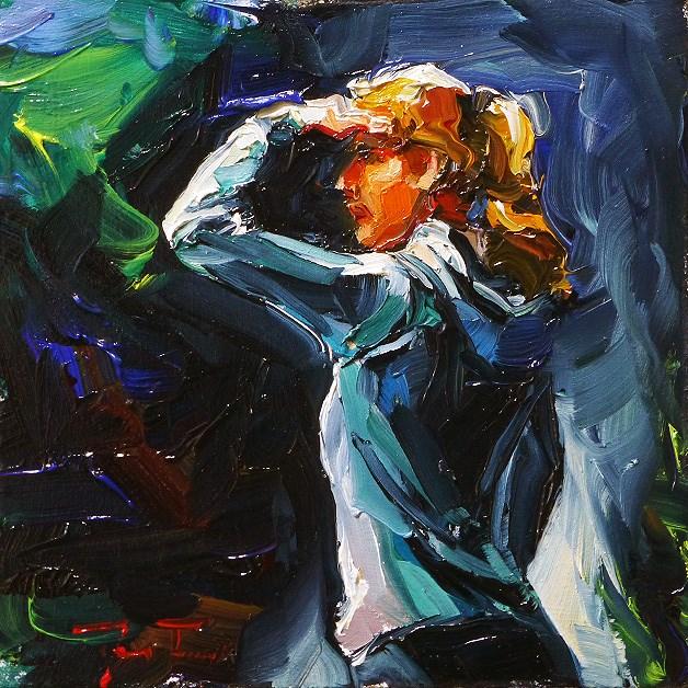 """""""seeker"""" original fine art by Jurij Frey"""