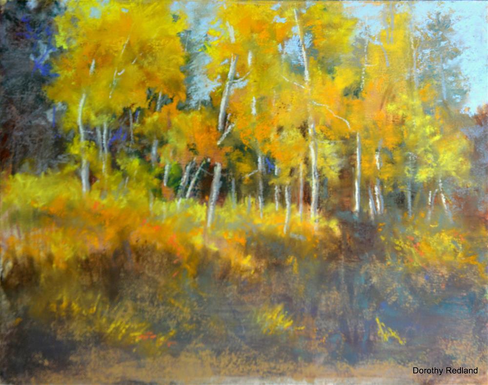 """The golden hour"" original fine art by Dorothy Redland"