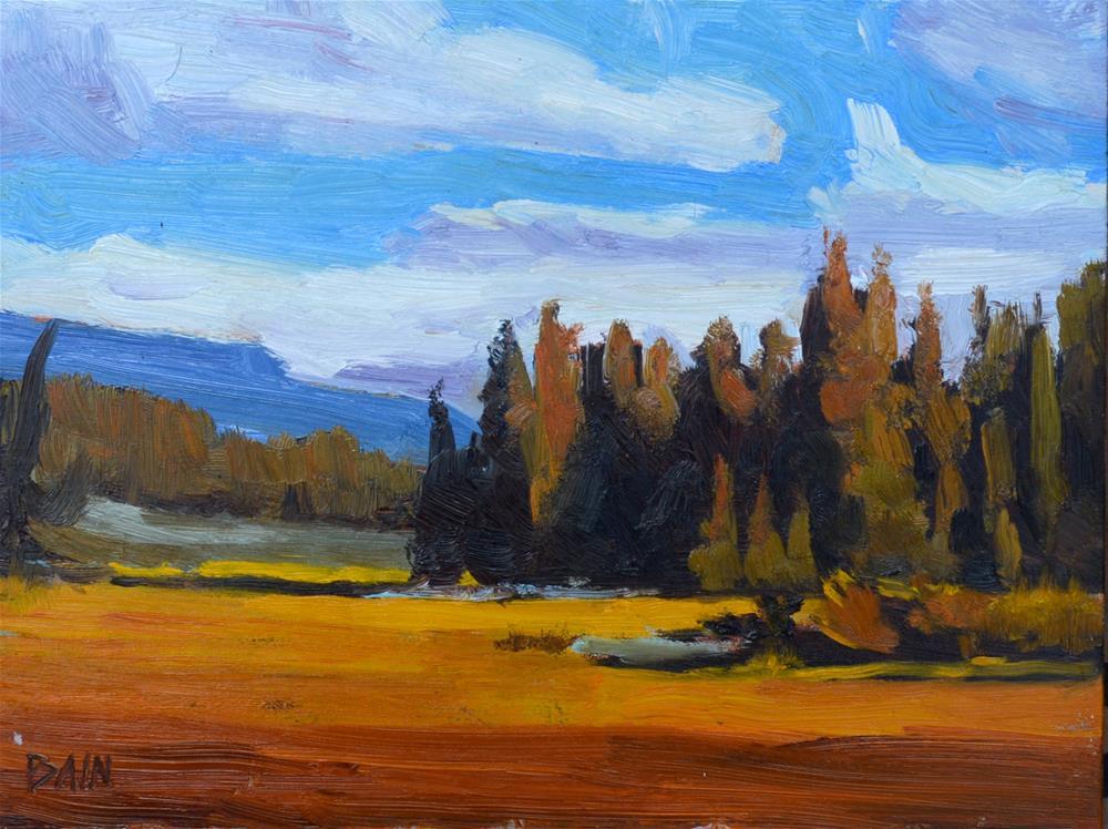 """""""Golden hour"""" original fine art by Peter Bain"""