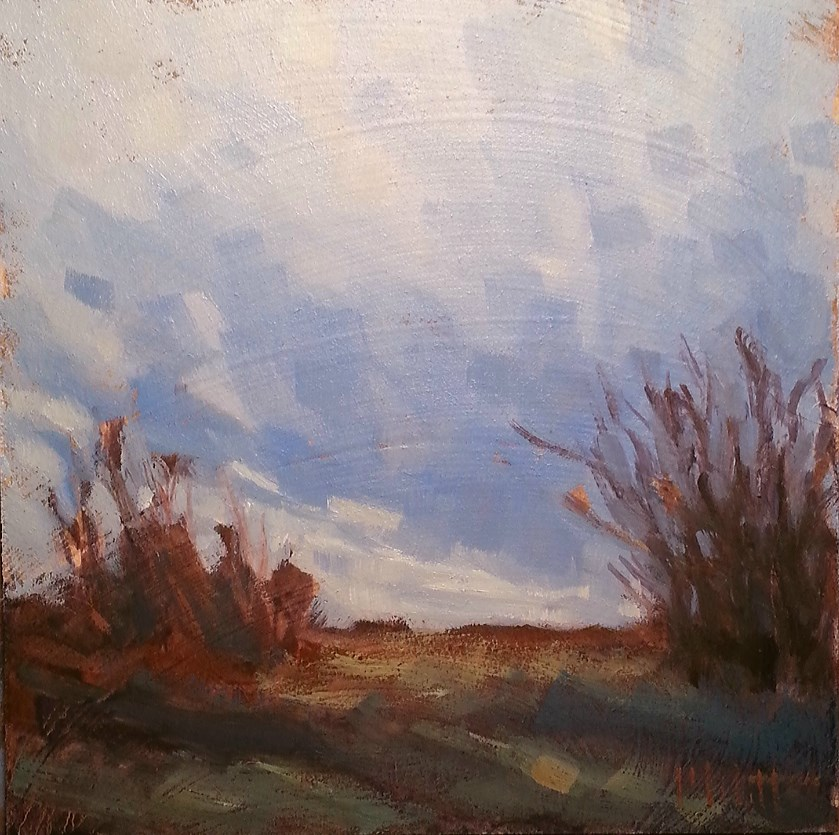 """After the Rain Original Daily Oil Painting"" original fine art by Heidi Malott"