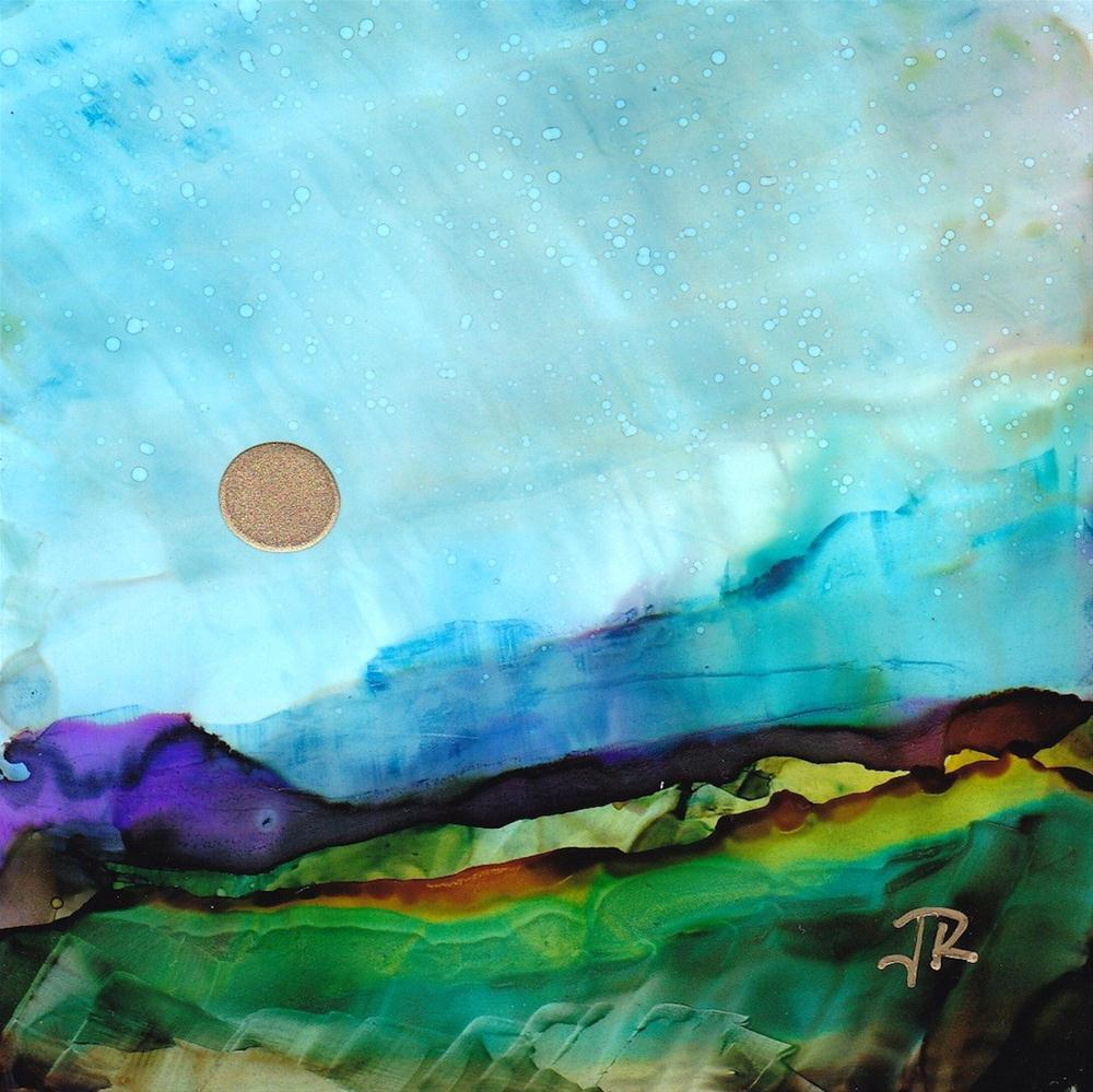 """Dreamscape No. 183"" original fine art by June Rollins"