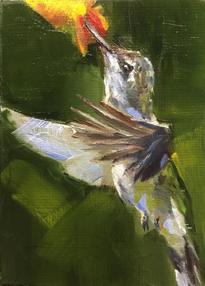 """""""Hover"""" original fine art by Gary Bruton"""