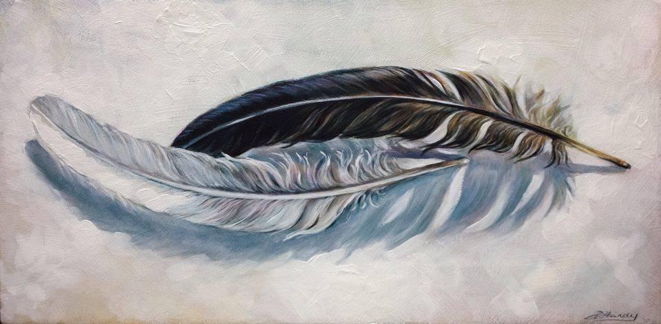 """Duality"" original fine art by Angela Hardy"