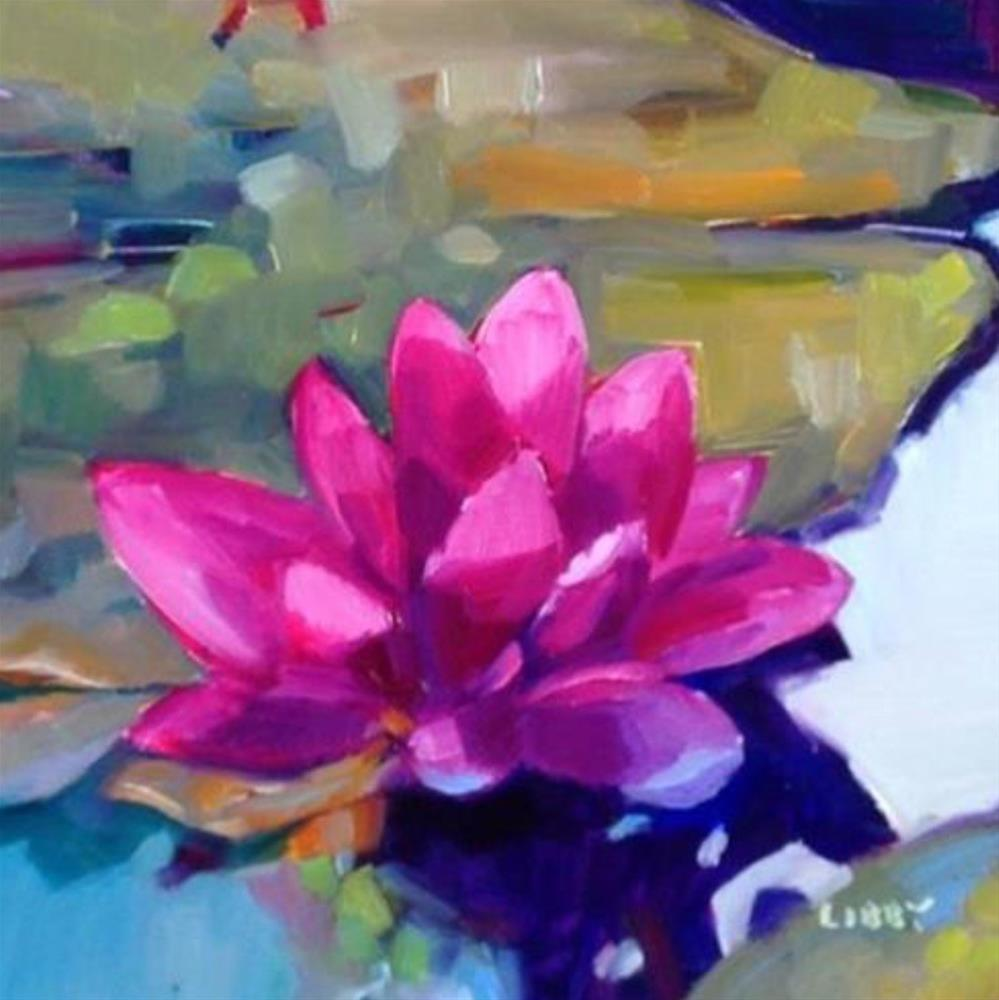 """""""Floating"""" original fine art by Libby Anderson"""