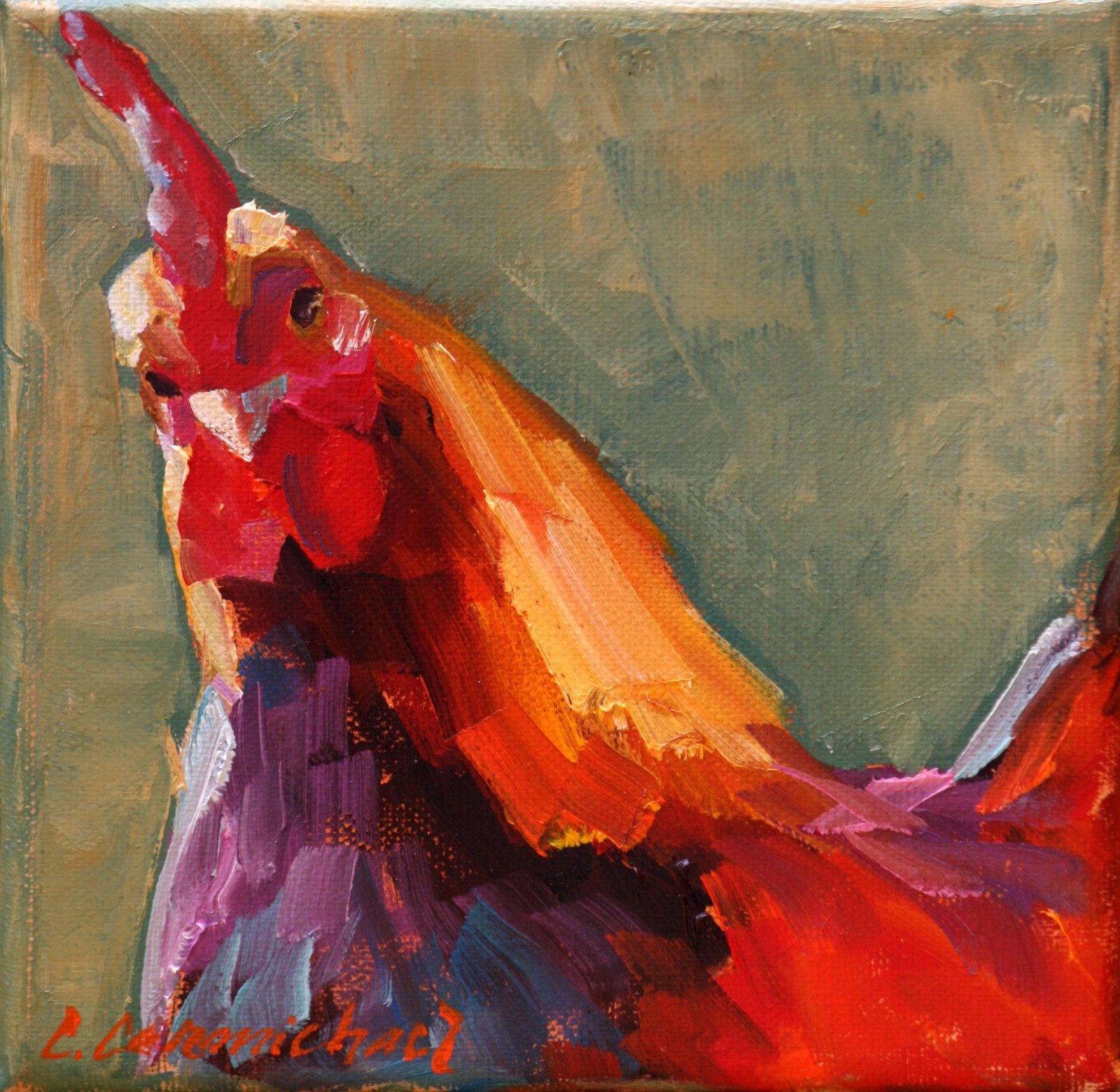""""" original fine art by Carol Carmichael"