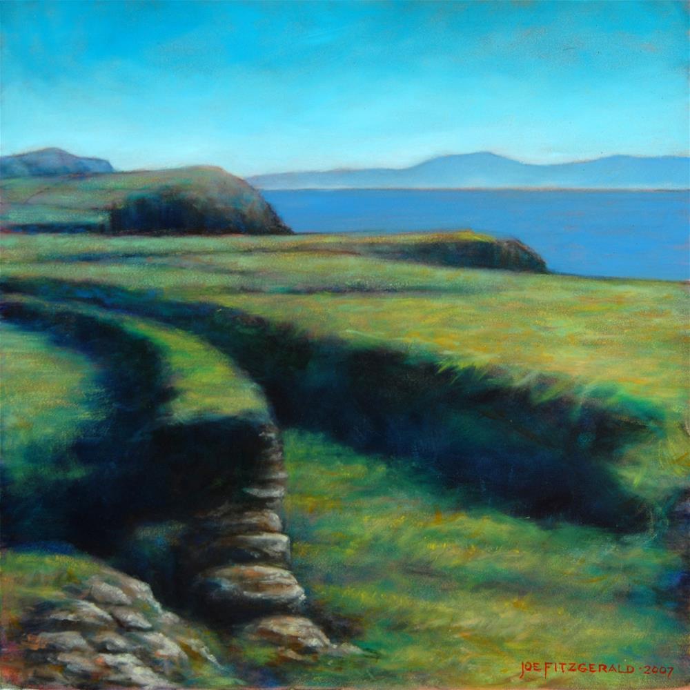 """Ventry Harbor"" original fine art by Joe Fitzgerald"