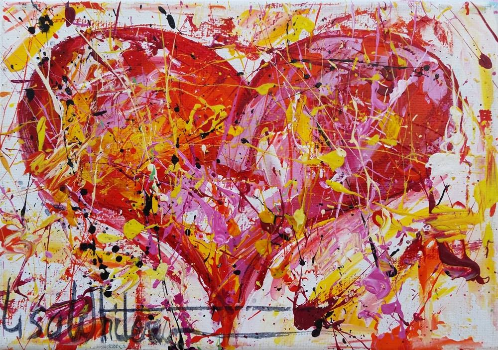 """91 - Be Mine"" original fine art by Lisa Whitener"