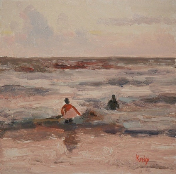 """Rise and Surf"" original fine art by Randall Cogburn"