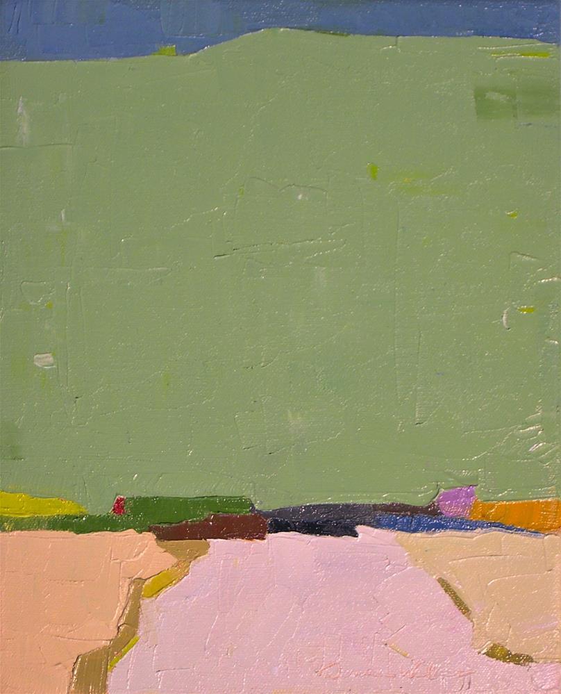 """Horizon"" original fine art by Donna Walker"