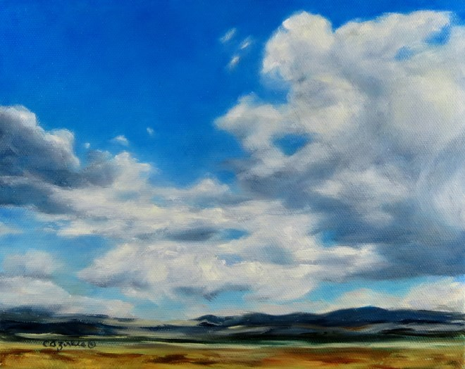 """Breezy Joy"" original fine art by Carol Zirkle"