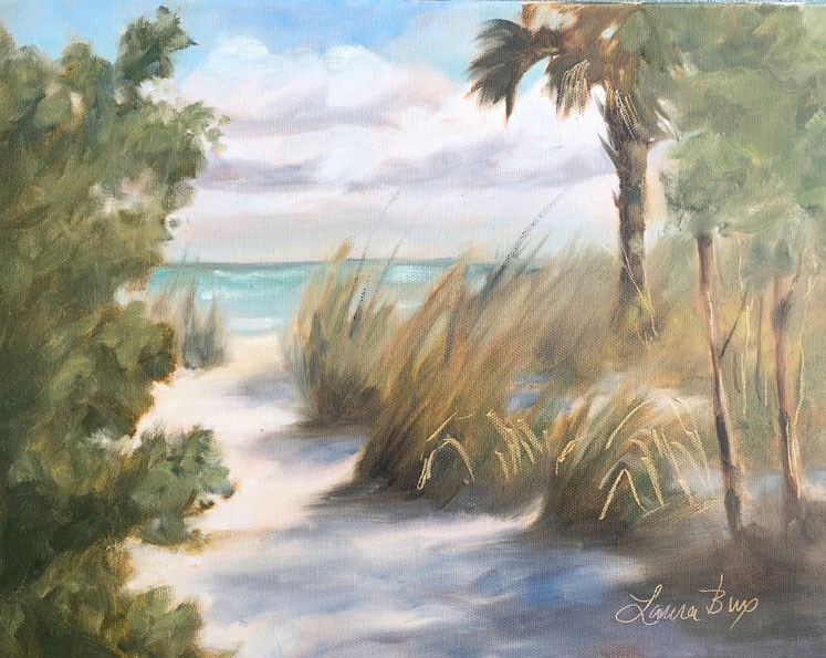 """Wiggins State Park, Naples Florida - 502"" original fine art by Laura  Buxo"