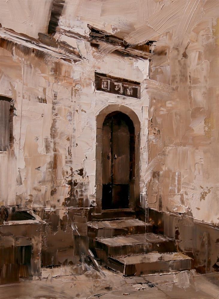 """Xidi Doorway 1"" original fine art by Qiang Huang"