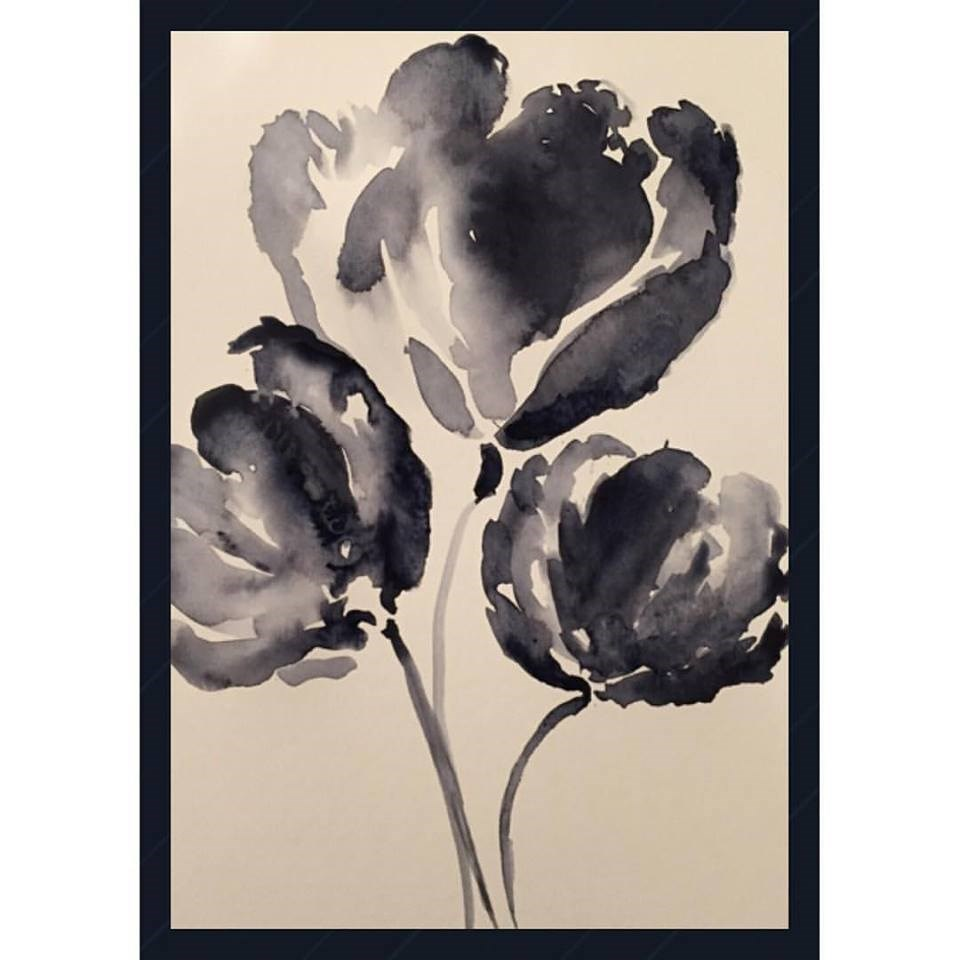 """Tulips"" original fine art by Melissa Gresham"
