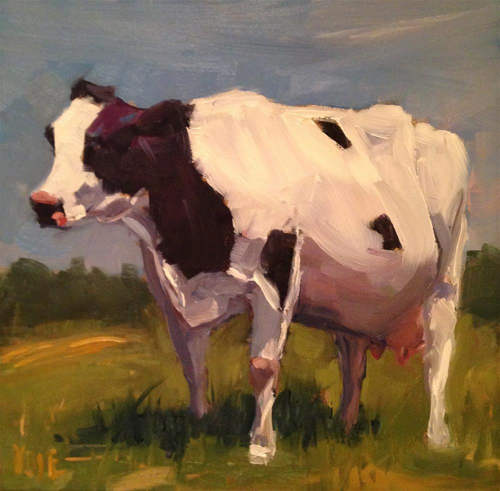 """#122 Miss Vermont"" original fine art by Patty Voje"