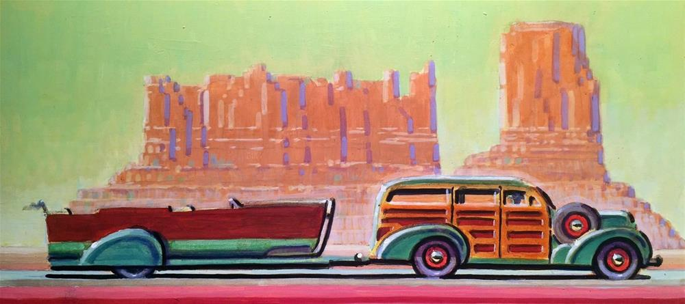 """Dowsing"" original fine art by Robert LaDuke"