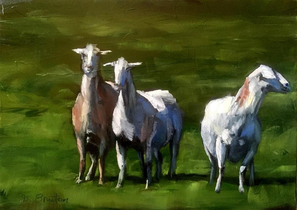 """Achtung"" original fine art by Gary Bruton"