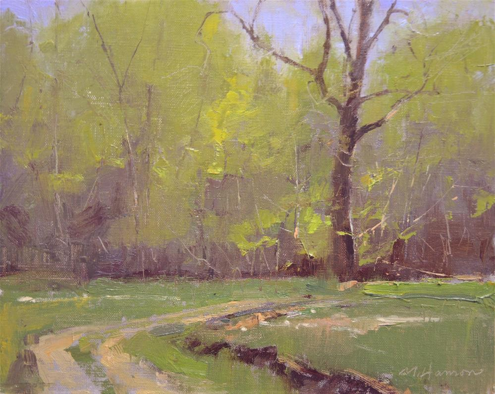 """Old Spring Road"" original fine art by Marc Hanson"