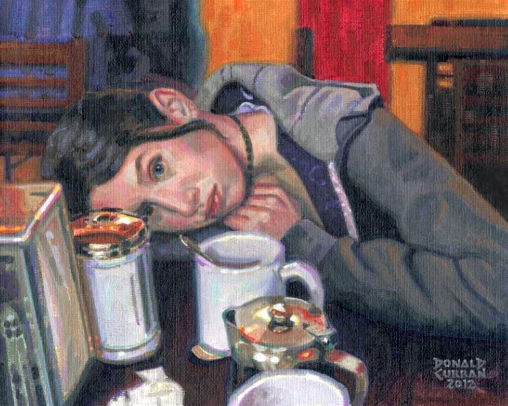 """Daydream"" original fine art by Donald Curran"