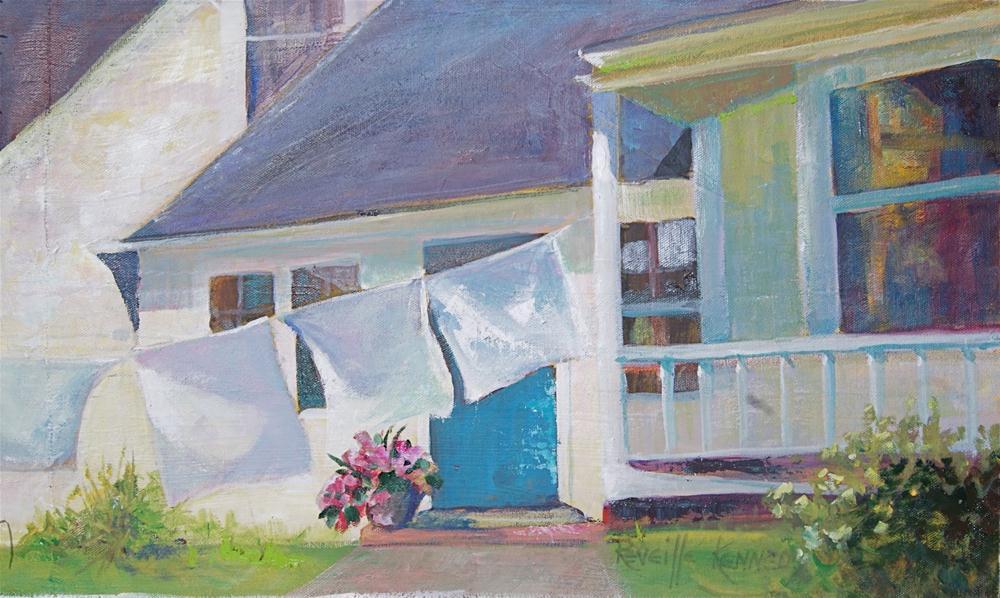 """Monday, Monday"" original fine art by Reveille Kennedy"