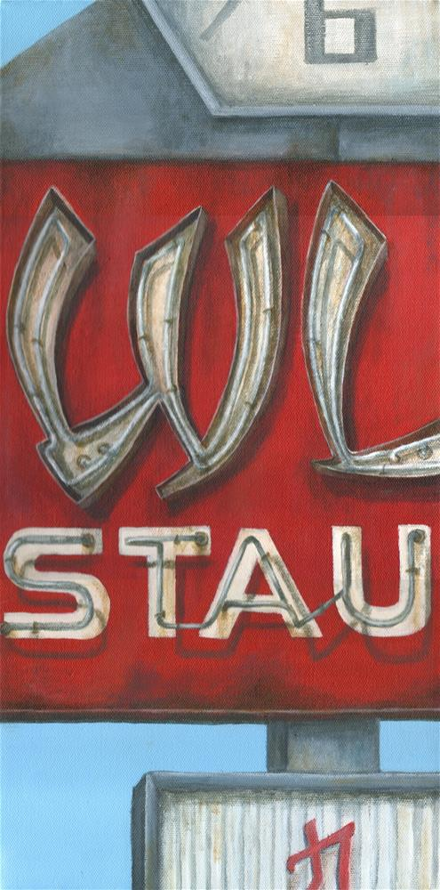 """STAU"" original fine art by Debbie Shirley"