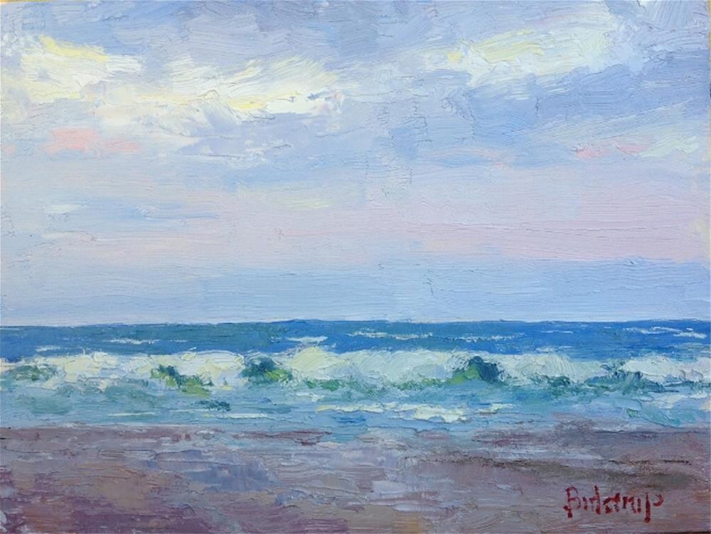 """Aloha Sunrise"" original fine art by Mark Bidstrup"