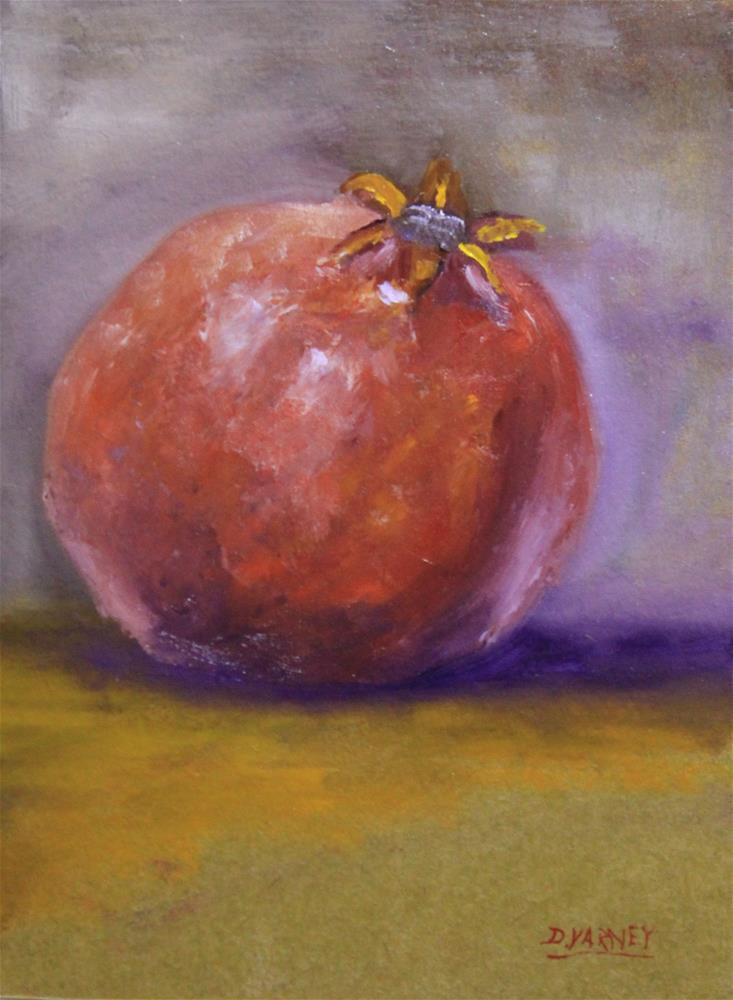"""Pomegranate"" original fine art by Daniel Varney"