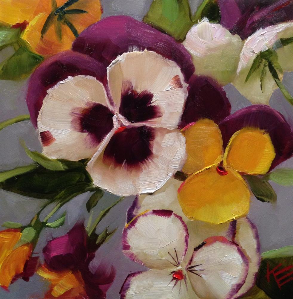 """Arrangement of beauty"" original fine art by Krista Eaton"