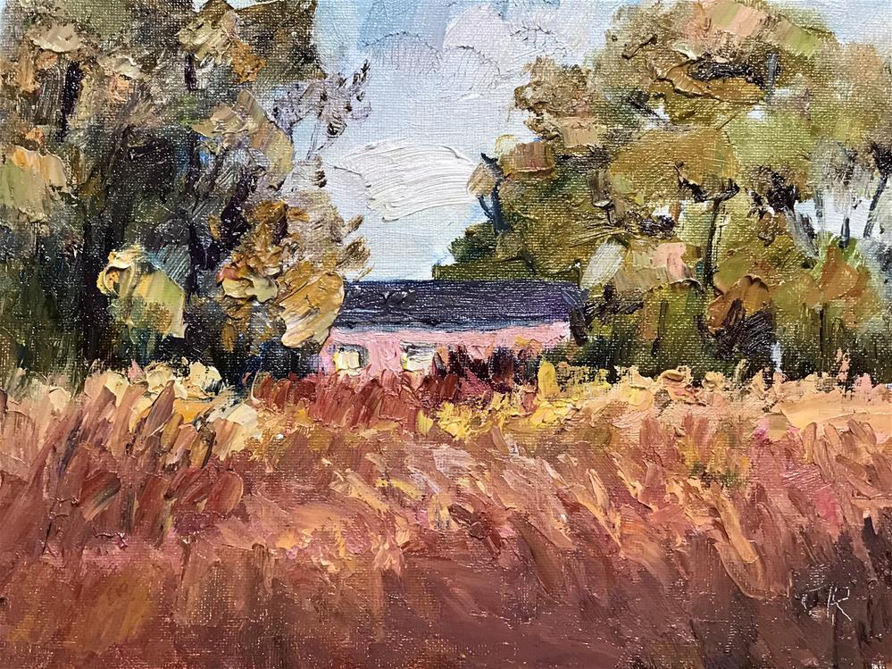 """""""Landscape"""" original fine art by chunri jin"""