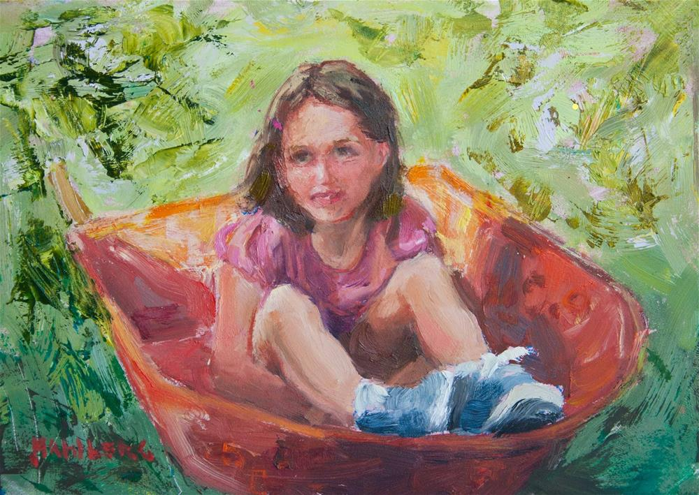 """Sweet Ride"" original fine art by Cynthia Mahlberg"