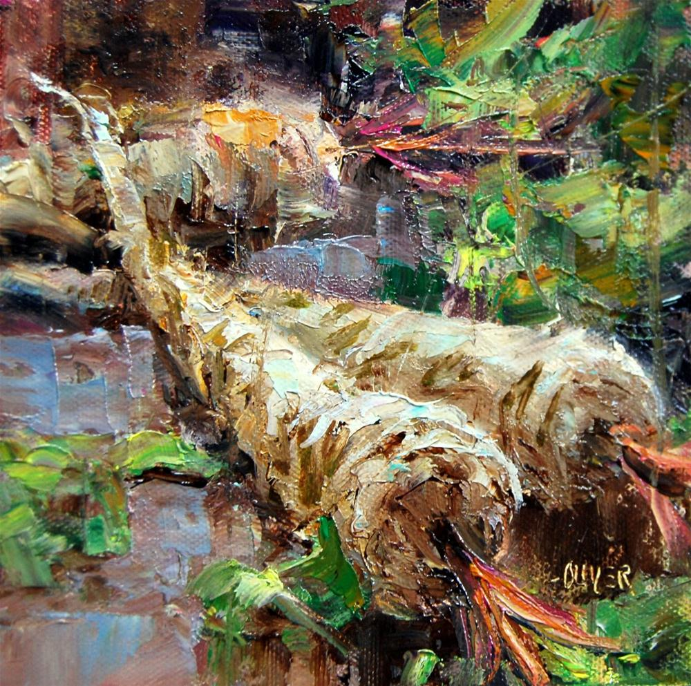 """Parsnip Trio"" original fine art by Julie Ford Oliver"