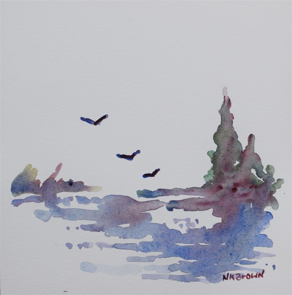 """Serenity"" original fine art by Nancy Brown"