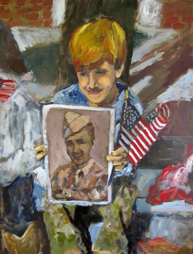 """""""Legacy of Heroes"""" original fine art by Susan Elizabeth Jones"""