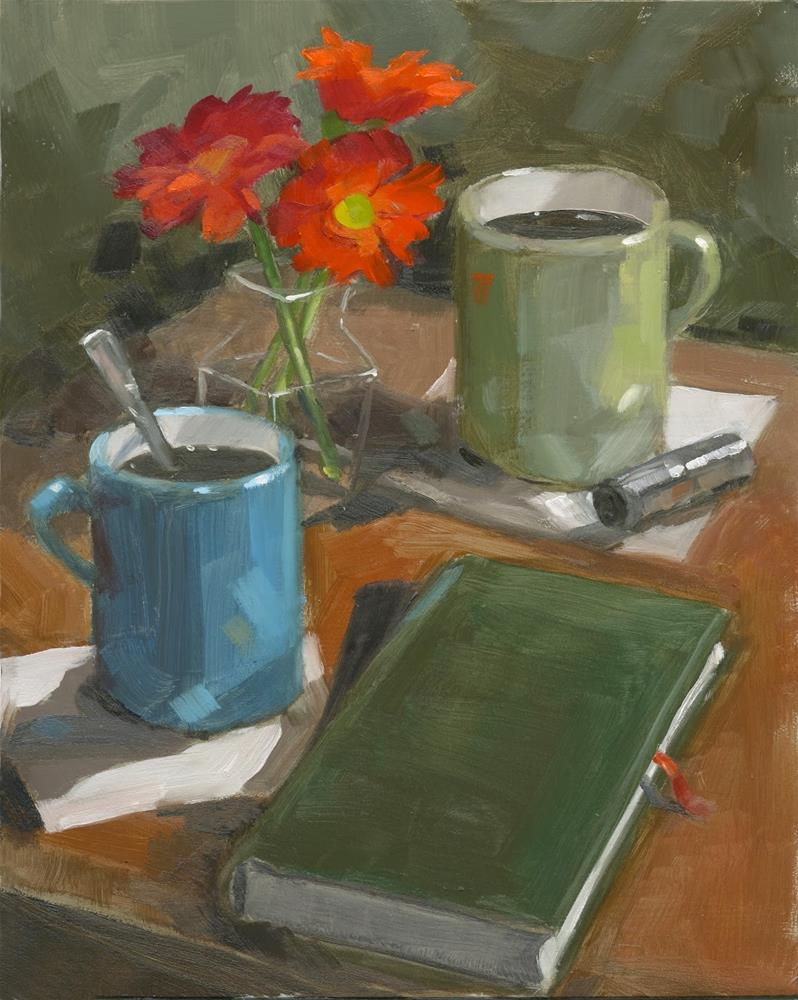 """Aroma Therapy"" original fine art by Nancy Parsons"