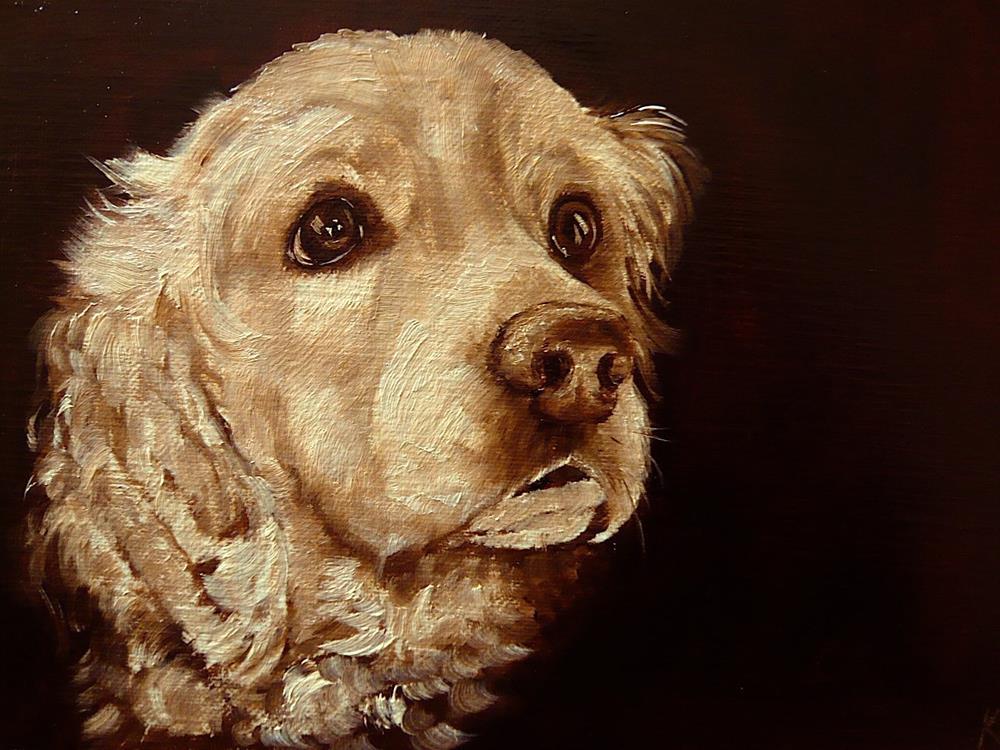 """Brown Study"" original fine art by Karen Robinson"