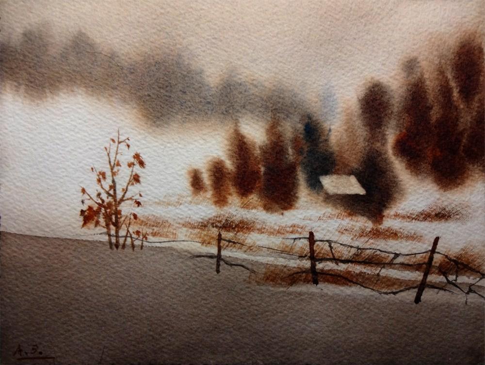 """""""Hidden Path"""" original fine art by Arena Shawn"""