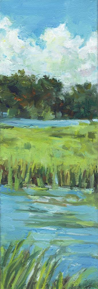 """Slice of the Marsh"" original fine art by Michel McNinch"