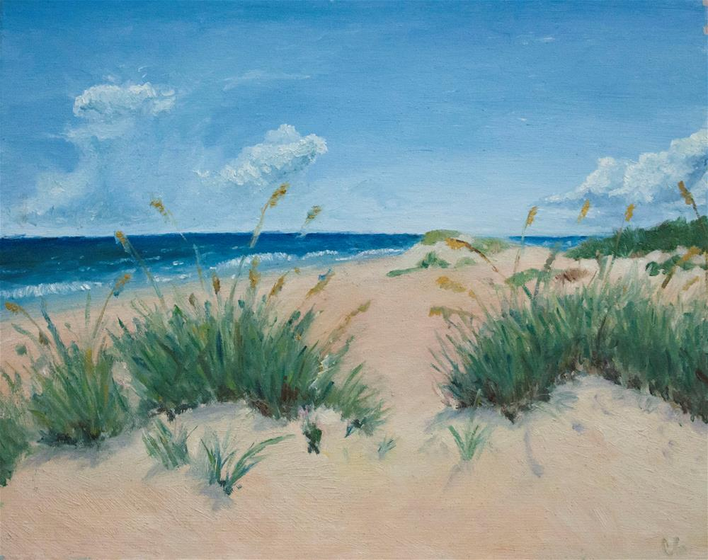"""Cocoa Beach"" original fine art by Carolina Giraldo"