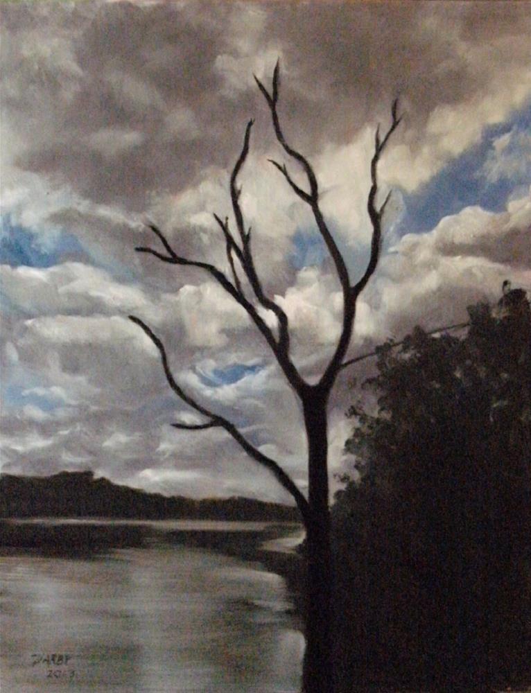 """""""Sentinel"""" original fine art by Lynn Darby"""