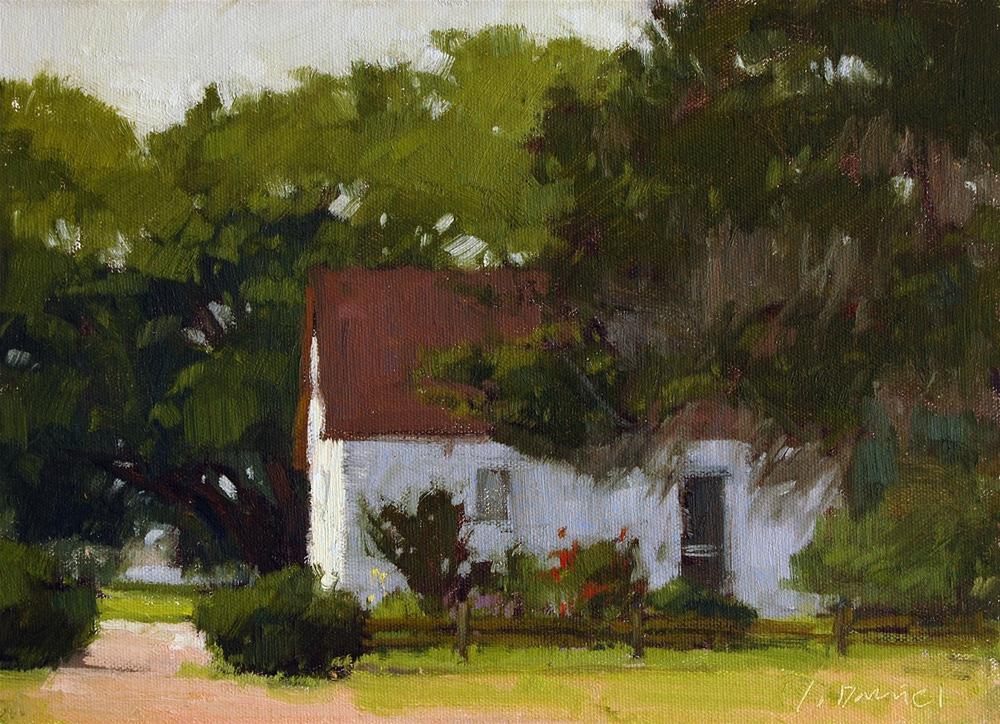 """Cottage Light"" original fine art by Laurel Daniel"