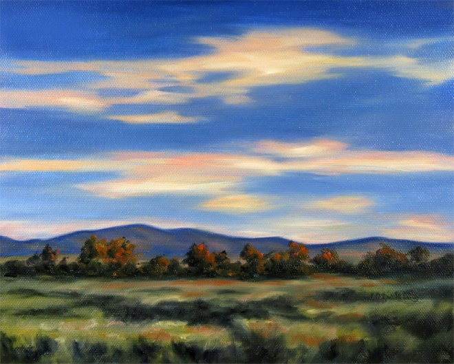 """Fantastic Fall"" original fine art by Carol Zirkle"