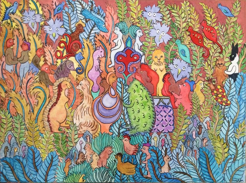 """""""Calendar Girls"""" original fine art by Susan Medyn"""
