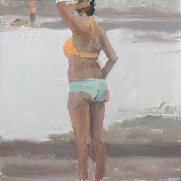 """Calm Morning"" original fine art by Randall Cogburn"