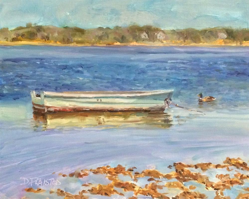 """Old Faithful"" original fine art by Diane Plaisted"