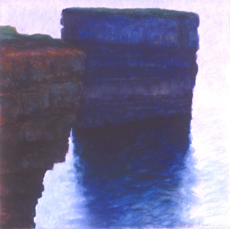 """Downpatrick Head"" original fine art by Joe Fitzgerald"