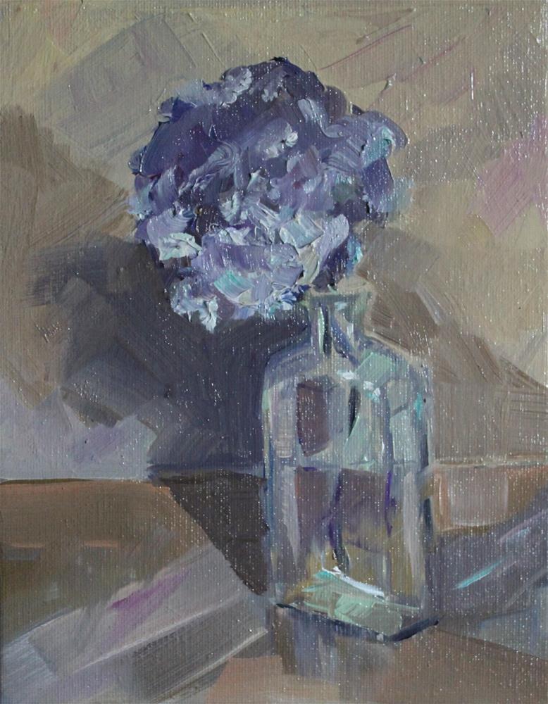 """""""Last Bloom of Summer"""" original fine art by Leslie Spencer"""